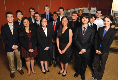 Team Aezon is made up of students and faculty from Johns Hopkins University. Image courtesy of Will Kirk.