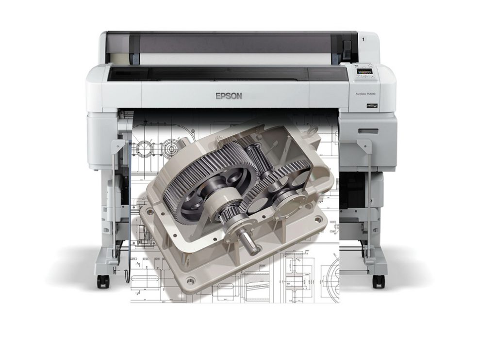 Epson's SureColor T-Series printers are available in both single- and dual-roll configurations. Image courtesy of Epson America.