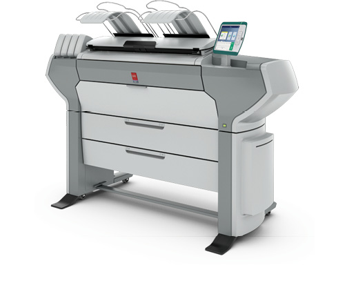 Canon's Océ ColorWave 500 can print with bond, film, waterfast Tyvek, recycled paper and other media options. Image courtesy of Canon Solutions America.