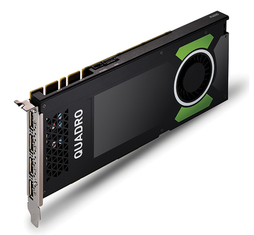 Fig. 2: The high-end NVIDIA Quadro P4000 is VR-ready.